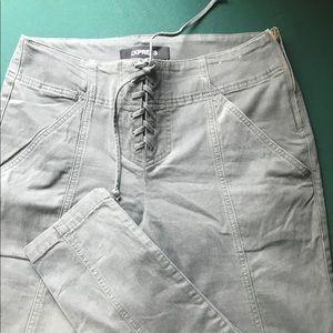 Express size 12 lace up pants